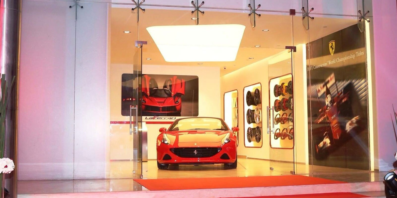 Ferrari Showroom, Mathura Road, New Delhi